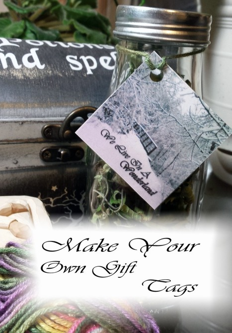 Quick 'n Easy Tutorial – Make Your Own Gift Tags!   Sewing, Craft, Knitting, Jewelry, and Everything Else Handmade   Scoop.it