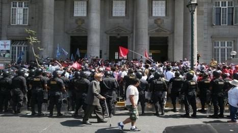 La huelga médica en imágenes: lo que dejó el primer día | Desde Perú | Scoop.it