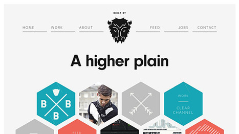 Flat UI Design websites Inspiration september 2013 | Webdesign | Scoop.it