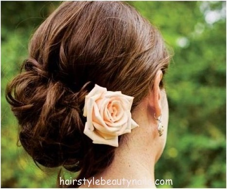 Bun hairstyle - Hairstyles Beauty and nails pictures | My best pics collection | Scoop.it