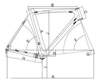 Road Disc Frame - Super Light Carbon Disc Brake Road Bike Frameset Bike   mountain bike wheelsets   Scoop.it