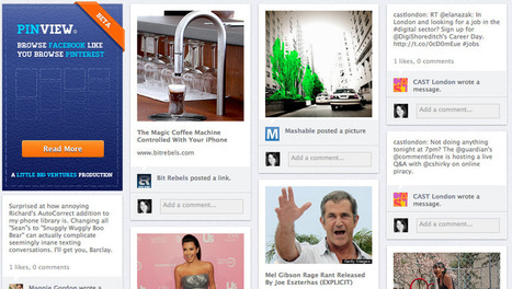 PinView: If Facebook and Pinterest Had A Baby, It Would Look Like This - 10,000 Words | Everything Pinterest | Scoop.it