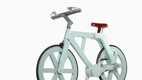 This $9 Cardboard Bike Can Support Riders Up To 485lbs   Urban Cycling Area   Scoop.it