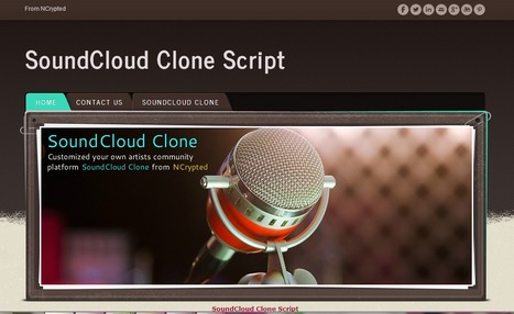 SoundCloud Clone Script | SoundCloud Clone | Php SoundCloud Clone | Scoop.it