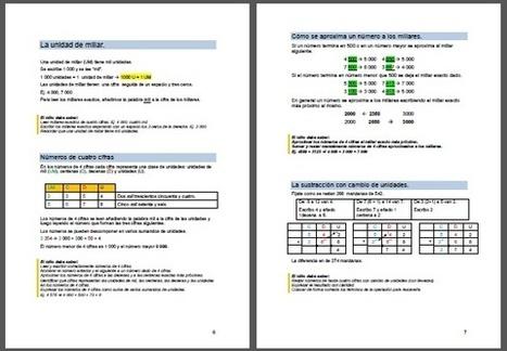 Cuadernos para aprender Matemáticas – 3º Primaria | Matemáticas Primaria | Scoop.it