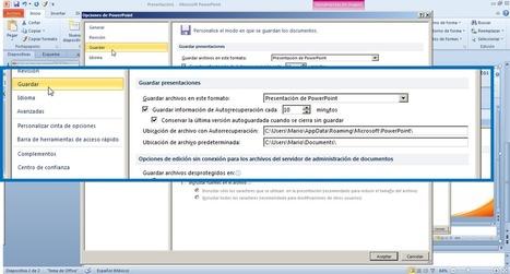 Trucos De Ofimática: Recuperación Y Autoguardado En Office | Recursos de ofimática | Scoop.it