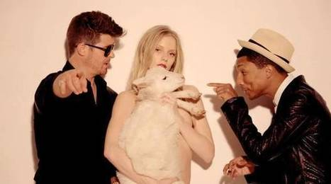 Blurred Lines trial: Jury finds against Pharrell Williams and Robin Thicke awards and awards $7.3m to family of Marvin Gaye | independent musician resources | Scoop.it