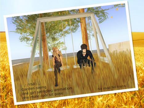 Garden Swing by Y&R | Teleport Hub | Second Life Freebies | Scoop.it