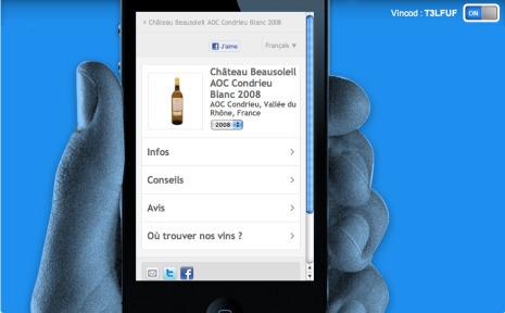 L'application Vincod et sa fonction Vinilike | Tag 2D & Vins | Scoop.it