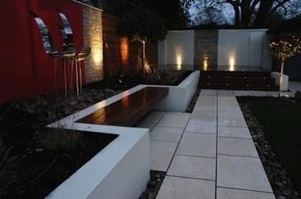 Rendered Walls in Your Garden Design - David Anderson | Contemporary Garden Design | Scoop.it