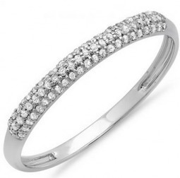 Glittering Wedding Diamond Band for your Special Someone | Dazzling Rock | Certified Diamond Jewelry | Scoop.it