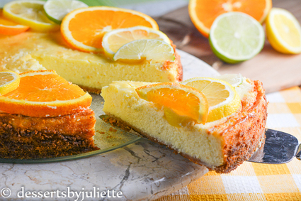 Citrus Cheesecake | For The Love of Citrus! | Scoop.it