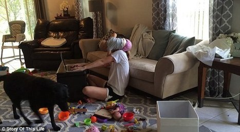 Mommy blogger shares comical video of her toddler interrupting her | Kickin' Kickers | Scoop.it