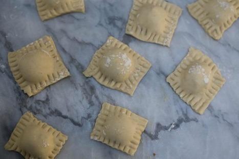 Creamy, Cheesy Homemade Ravioli [Vegan] | My Vegan recipes | Scoop.it