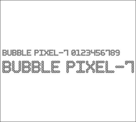 Showcase of 20+ New Pixel Fonts for Your Designs | BestDesignTuts | Web Design | Scoop.it
