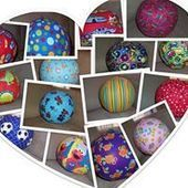 Handmade Fabric Balloon Balls | What's New in the Duchenne Nation | Scoop.it