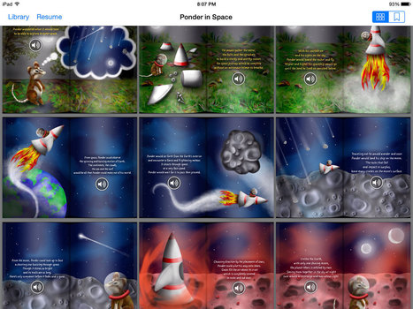 Author reveals the creative process behind his stunning ebooks using @BookCreatorapp | Go Go Learning | Scoop.it