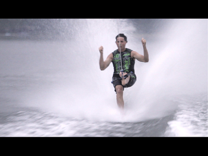 Barefooter intends to 'ski up to my funeral' | Barefoot Waterski | Scoop.it