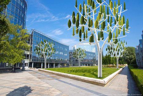 Wind Turbine Trees Generate Renewable Energy for Urban Settings | Turbines Design & Power | Scoop.it
