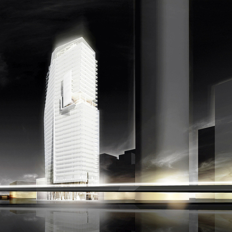 Richard Meier & Partners Designs New Tower in Mexico City | Rendons visibles l'architecture et les architectes | Scoop.it