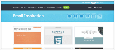 5 Resources To Spark Some Inspiration For Your Next Email Design | MarketingHits | Scoop.it