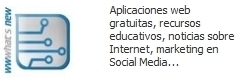 Wwwhat's new? - Aplicaciones web gratuitas | Cursos, Recursos  i Ciència | Scoop.it