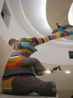 Crochet Artist Elaine Bradford | Artistic crocheting-knitting and more | Scoop.it