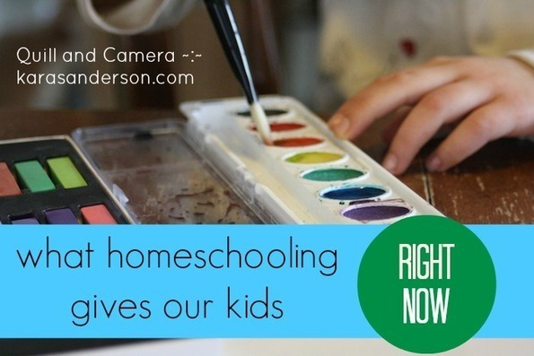 What homeschooling gives our kids right now. | ...