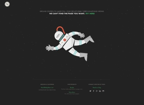 Cool and creative 404 pages: tips and examples | Public Relations & Social Media Insight | Scoop.it