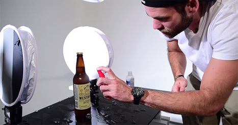 How to Capture a Complex 5-Light Beer Bottle Product Shot from Start to Finish | xposing world of Photography & Design | Scoop.it