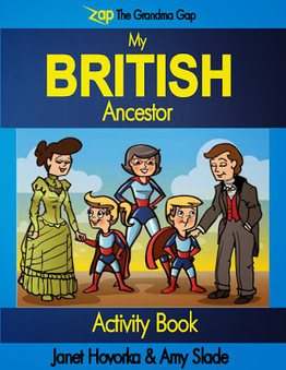 Janet Hovorka Announces New Activity Book Series for Youth | Family History Research | Scoop.it