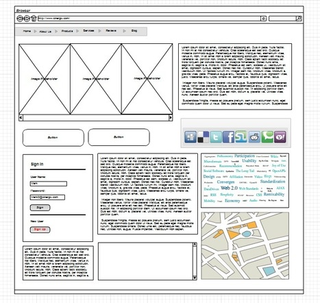 Best online wireframe tools « Web Design Blog – WebDesignShock | Basics and principles for a good  Web Design | Scoop.it