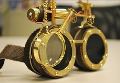 neosteam steampunk goggles | VIM | Scoop.it