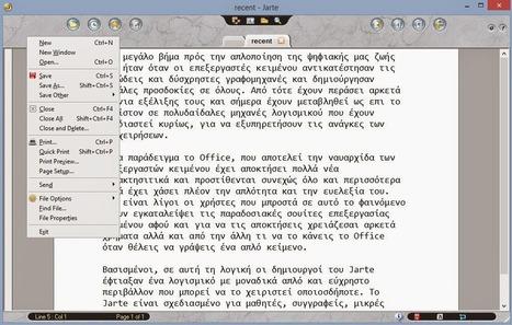 Jarte : Επεξεργαστής κειμένου για όλες τις χρήσεις | Εργαλεία για το διαδίκτυο & το σχολείο     Internet tools - School tools | Scoop.it