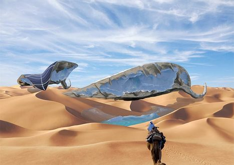 A Glacier in the Desert—Making the Impossible Possible - Organic Connections | Environmental Innovation | Scoop.it