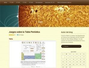 5 recursos para estudiar la tabla periódica de los elementos   Educacion, ecologia y TIC   Scoop.it