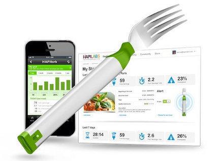 HAPIfork, la fourchette connectée pour mieux manger | Objets connectés et quantified self | Scoop.it