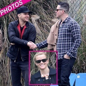 Reese's Two Husbands! Witherspoon Watches Son's Soccer Game ... | amazing soccer players | Scoop.it