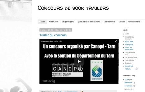 Concours de book trailers  81   Lecture et numérique   Scoop.it