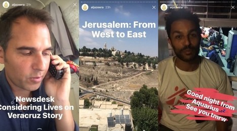 What we learned from our first week using Instagram Stories | Multimedia Journalism | Scoop.it