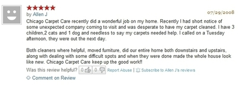 The Carpet Cleaning Reviews of our Happy Customers Say it All   Carpet Care   Scoop.it