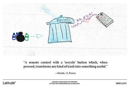 Robot carnivorus et poubelle magique connectée au top des solutions imaginées par les enfants pour traiter les déchets | Une nouvelle civilisation de Robots | Scoop.it