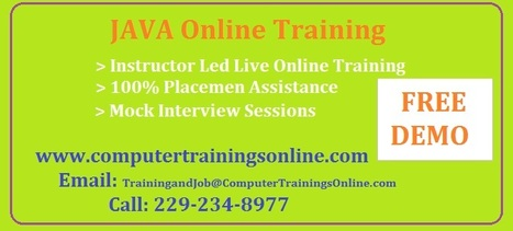 JAVA Online Training in USA | JAVA Online Training in Hyderabad | JAVA Online Training in USA | Scoop.it