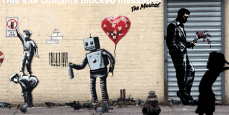 The Best Of Banksy Animated Into Incredible GIFs | Startup Revolution | Scoop.it