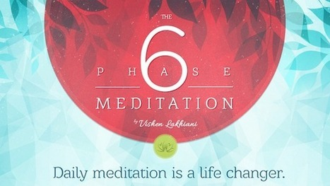 The 6 Phase Meditation - Infographic - Mindvalley Academy Blog | MindValley | Scoop.it