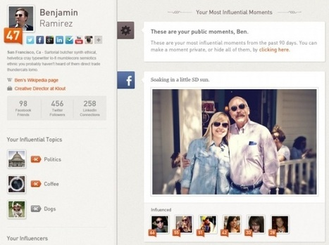Klout Unveils Redesign And A Scoring System That Looks At Real World Influence | TechCrunch | Social Media Bites! | Scoop.it