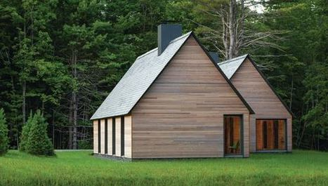 Marlboro Music: Five Cedar-Clad Cottages, designed by HGA | sustainable architecture | Scoop.it