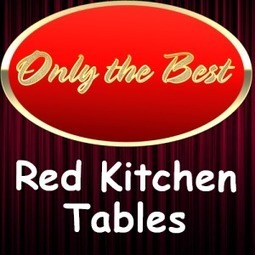 Small Red Kitchen Tables and Chairs Sets – Red Kitchen Accessories | Home and Garden | Scoop.it