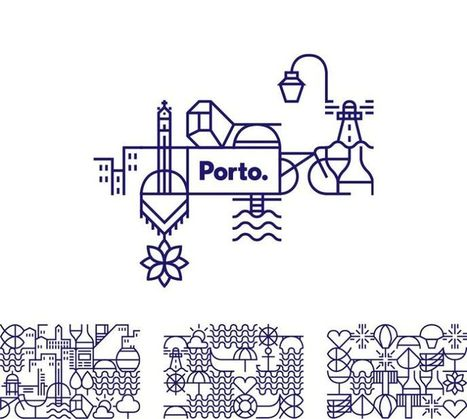 En images : la nouvelle (et élégante) identité visuelle de Porto | Identité de marque | Scoop.it