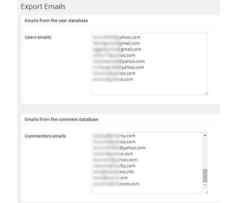 Récupérer les adresses mail de vos commentaires dans WordPress | Les outils du Web 2.0 | Scoop.it